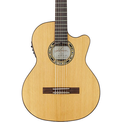 Kremona Verea Cutaway Acoustic-Electric Nylon Guitar thumbnail