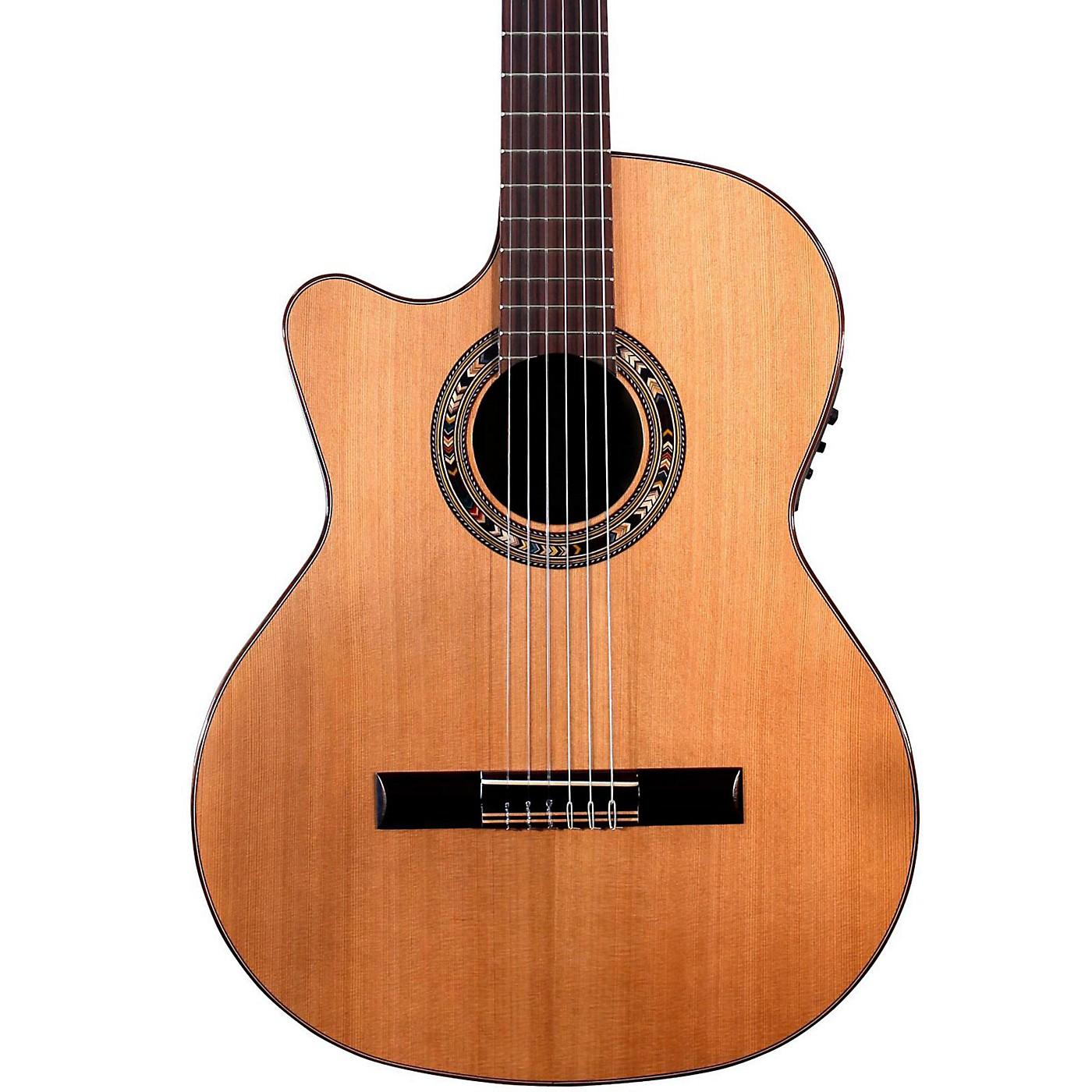 Kremona Verea Left-Handed Classical Acoustic-Electric Guitar thumbnail