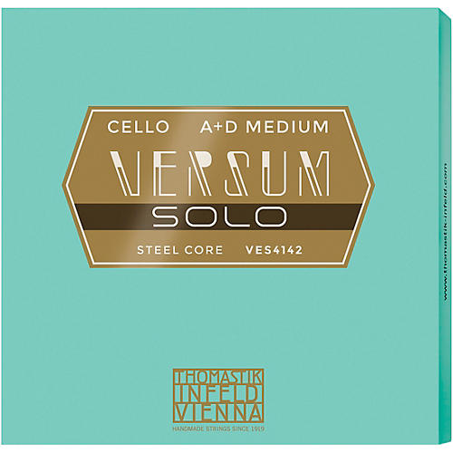 Thomastik Versum Solo A and D Cello String Combo Pack thumbnail