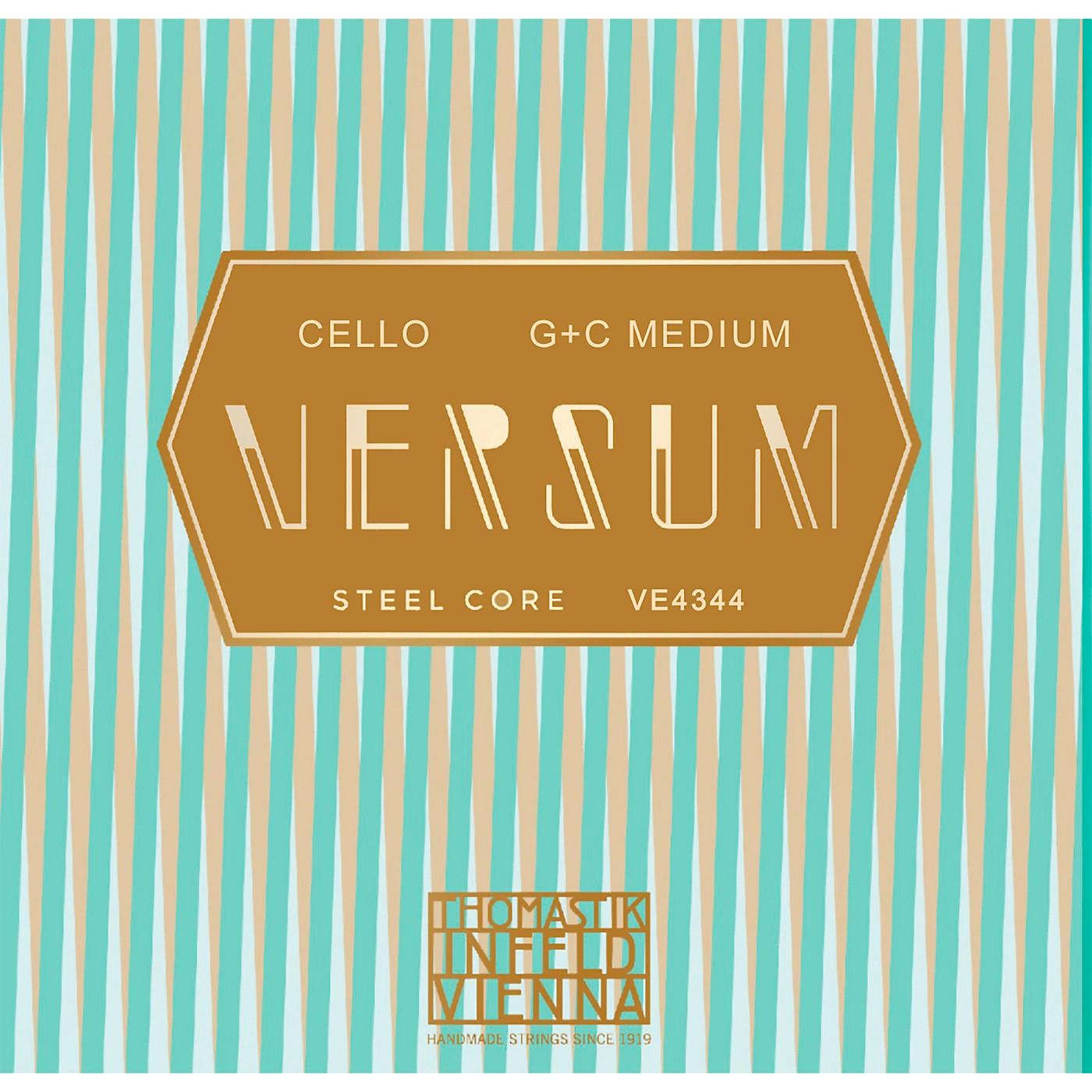 Thomastik Versum Tungsten G and C Cello String Combo Pack thumbnail