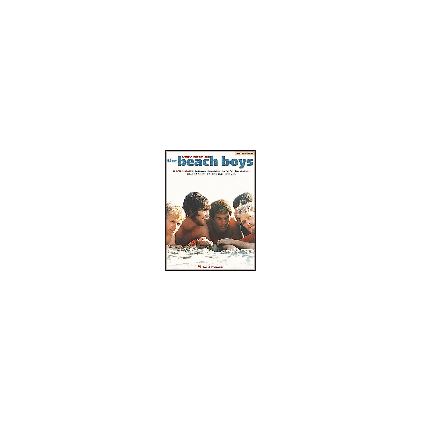 Hal Leonard Very Best of The Beach Boys Piano, Vocal, Guitar Songbook thumbnail