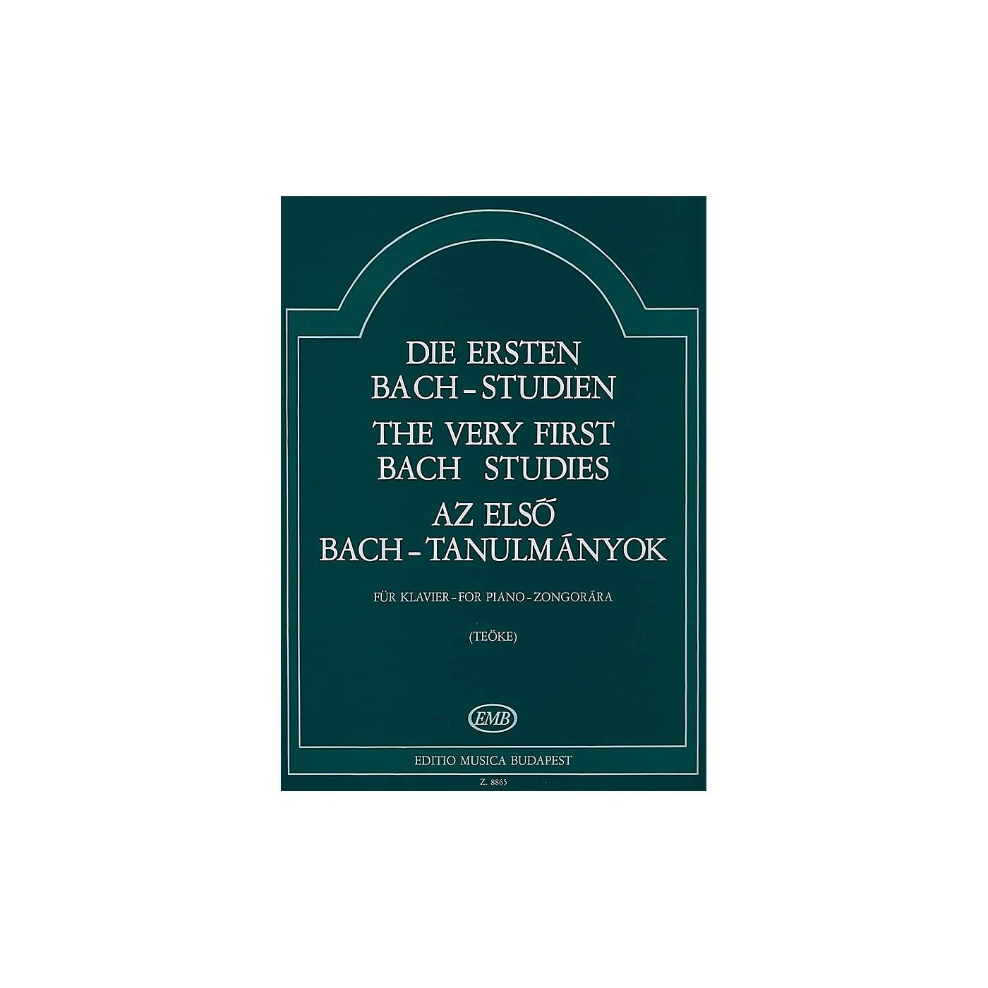 Editio Musica Budapest Very First Bach Studies-pno EMB Series by Johan Sebastian Bach thumbnail