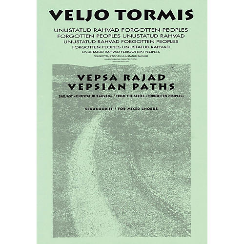 Boosey and Hawkes Vespa Rajad (Vespian Paths) (from the Series Forgotton Peoples) SATB DV A Cappella by Veljo Tormis thumbnail