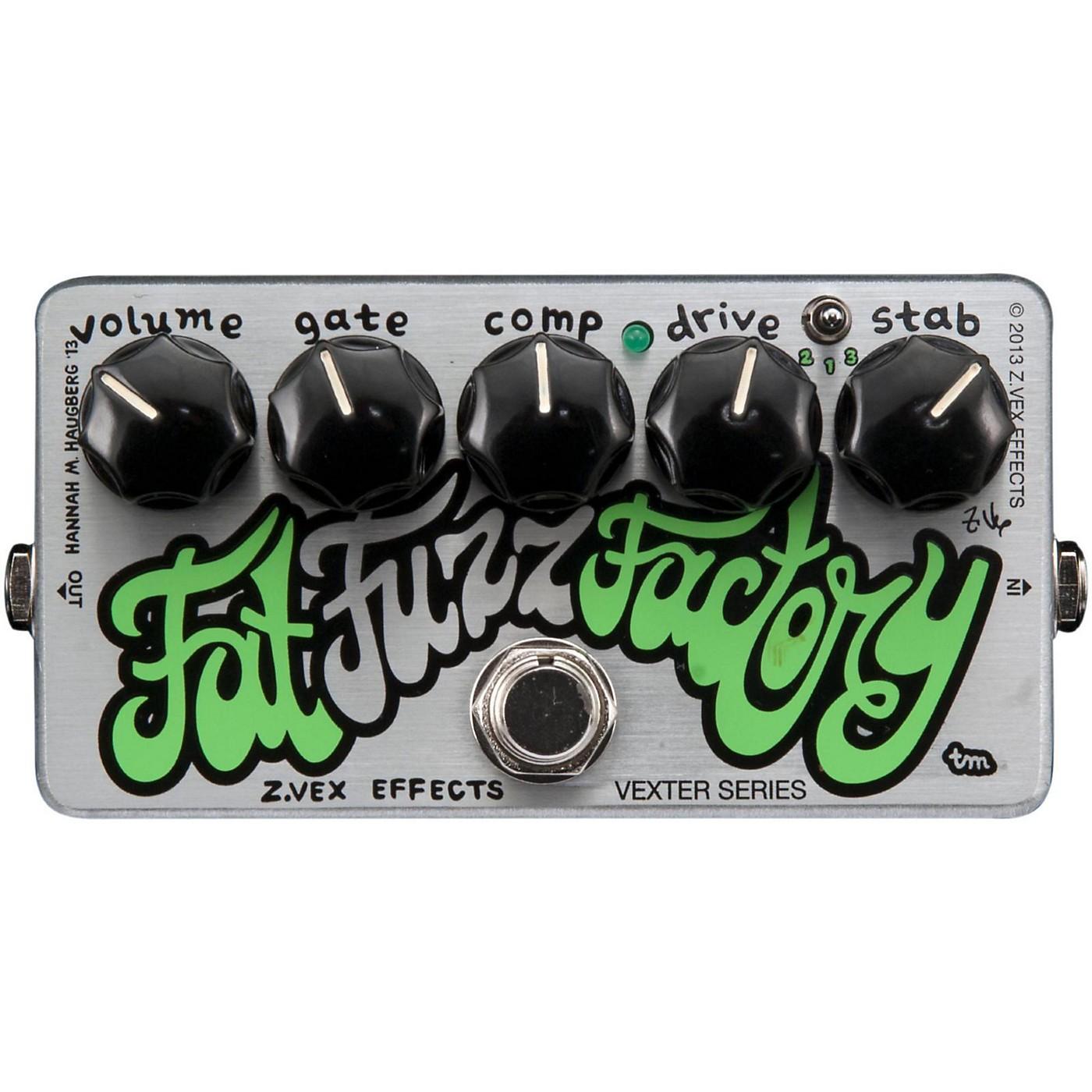 Zvex Vexter Fat Fuzz Factory Guitar Effects Pedal thumbnail