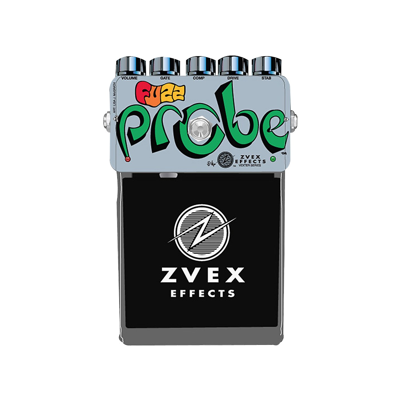 Zvex Vexter Series Fuzz Probe Guitar Effects Pedal thumbnail