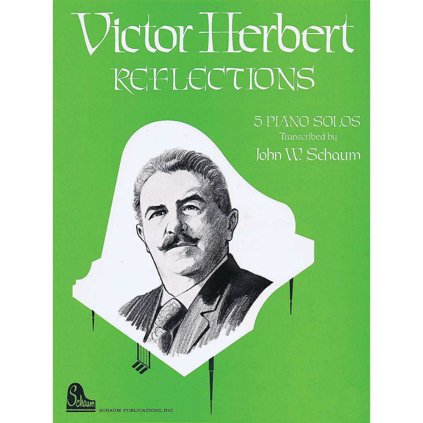 SCHAUM Victor Herbert Reflections Educational Piano Series Softcover thumbnail