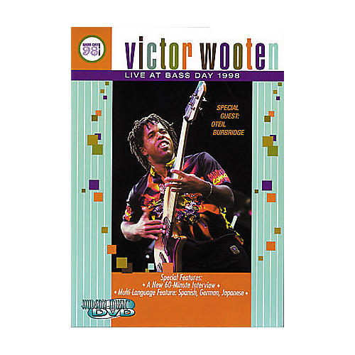 Hudson Music Victor Wooten: Live at Bass Day 1998 DVD thumbnail
