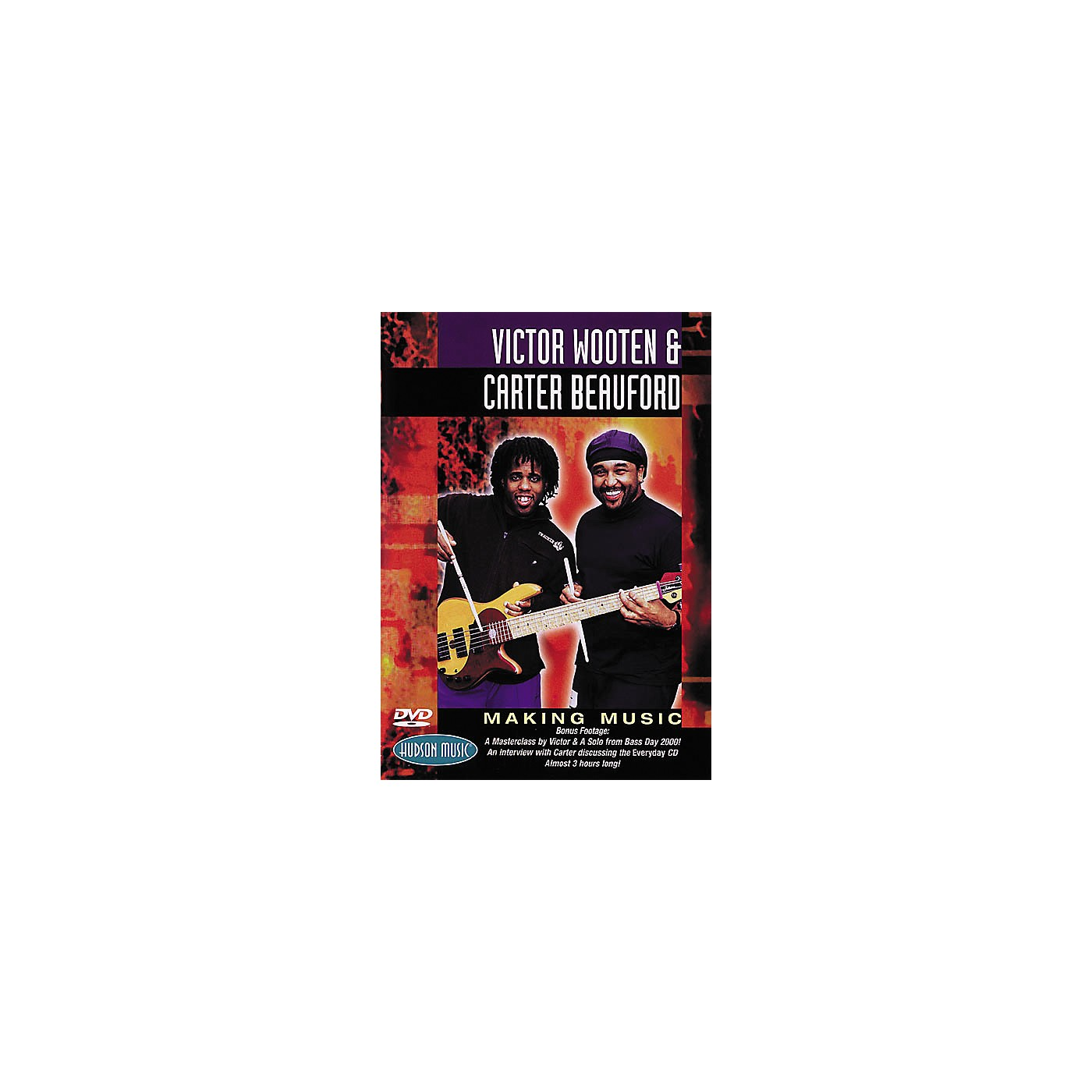 Hudson Music Victor Wooten and Carter Beauford - Making Music DVD thumbnail