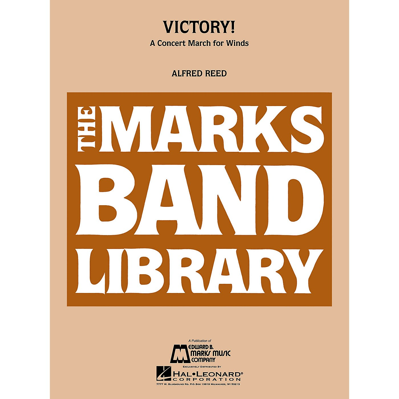 Edward B. Marks Music Company Victory! (A Concert March for Winds) Concert Band Level 4 Composed by Alfred Reed thumbnail