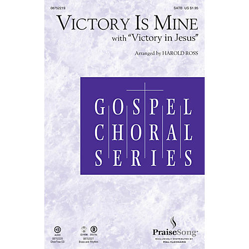PraiseSong Victory Is Mine (with Victory in Jesus) CHOIRTRAX CD Arranged by Harold Ross thumbnail