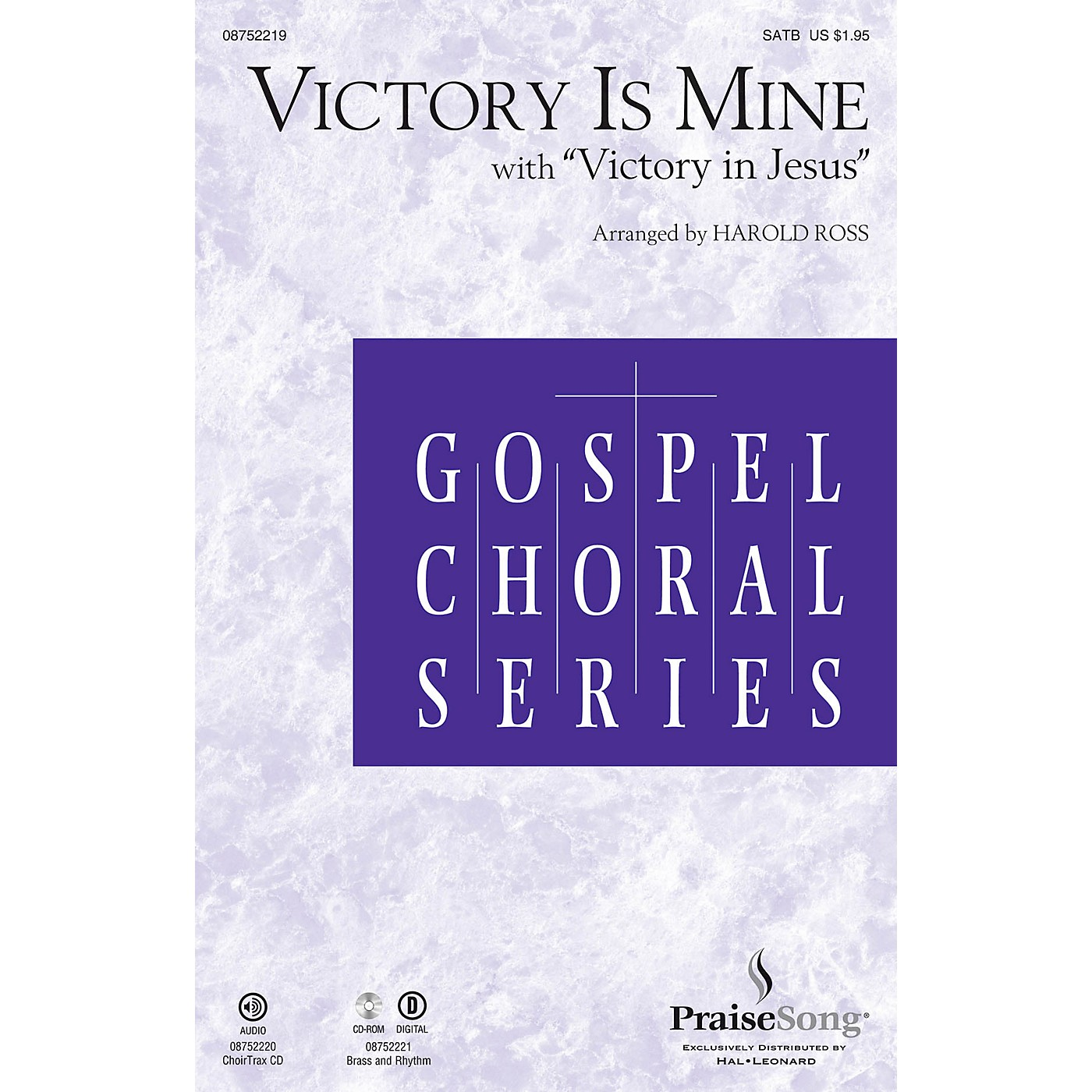 PraiseSong Victory Is Mine (with Victory in Jesus) SATB arranged by Harold Ross thumbnail