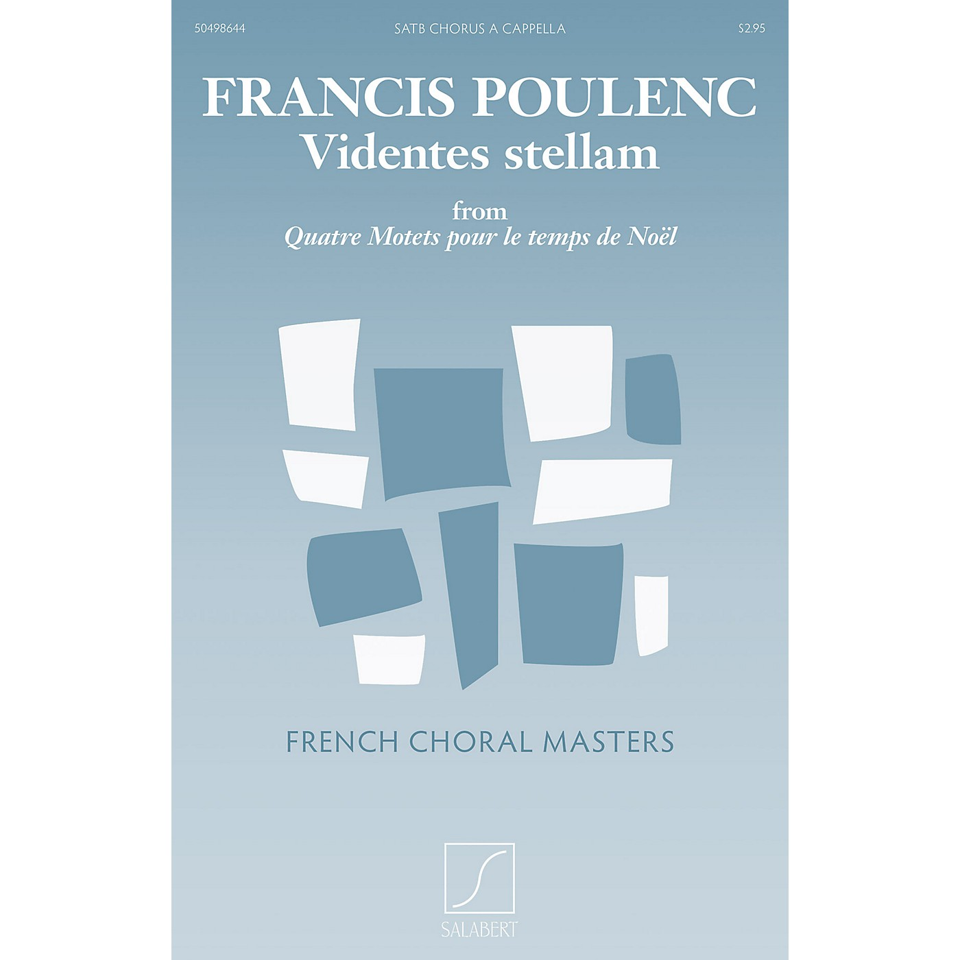 Salabert Videntes stellam (from Quatre motets pour le temps de Noël) SATB a cappella Composed by Francis Poulenc thumbnail