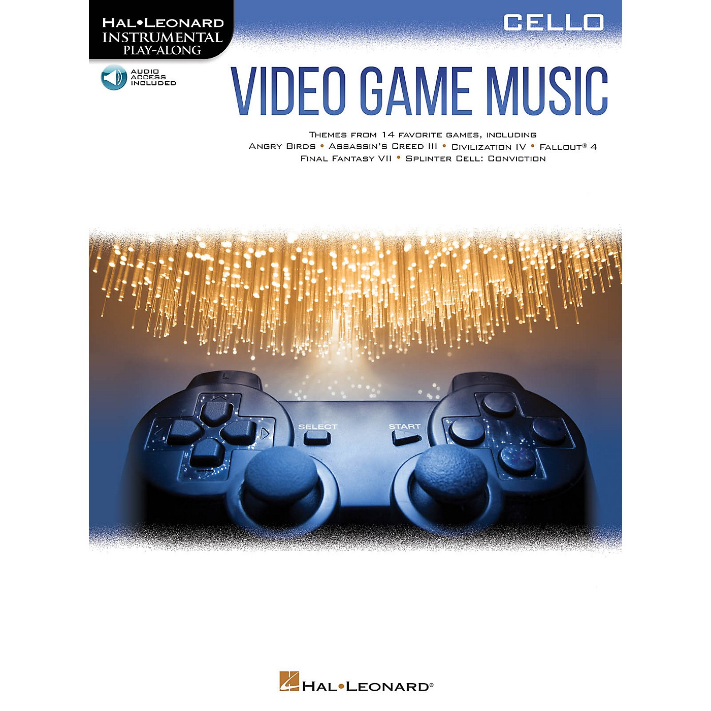 Hal Leonard Video Game Music for Cello Instrumental Play-Along Book/Audio Online thumbnail