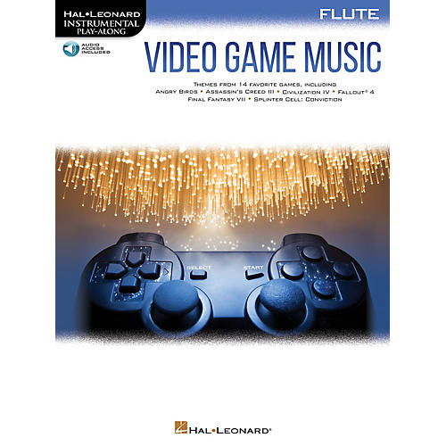 Hal Leonard Video Game Music for Flute Instrumental Play-Along Book/Audio Online thumbnail