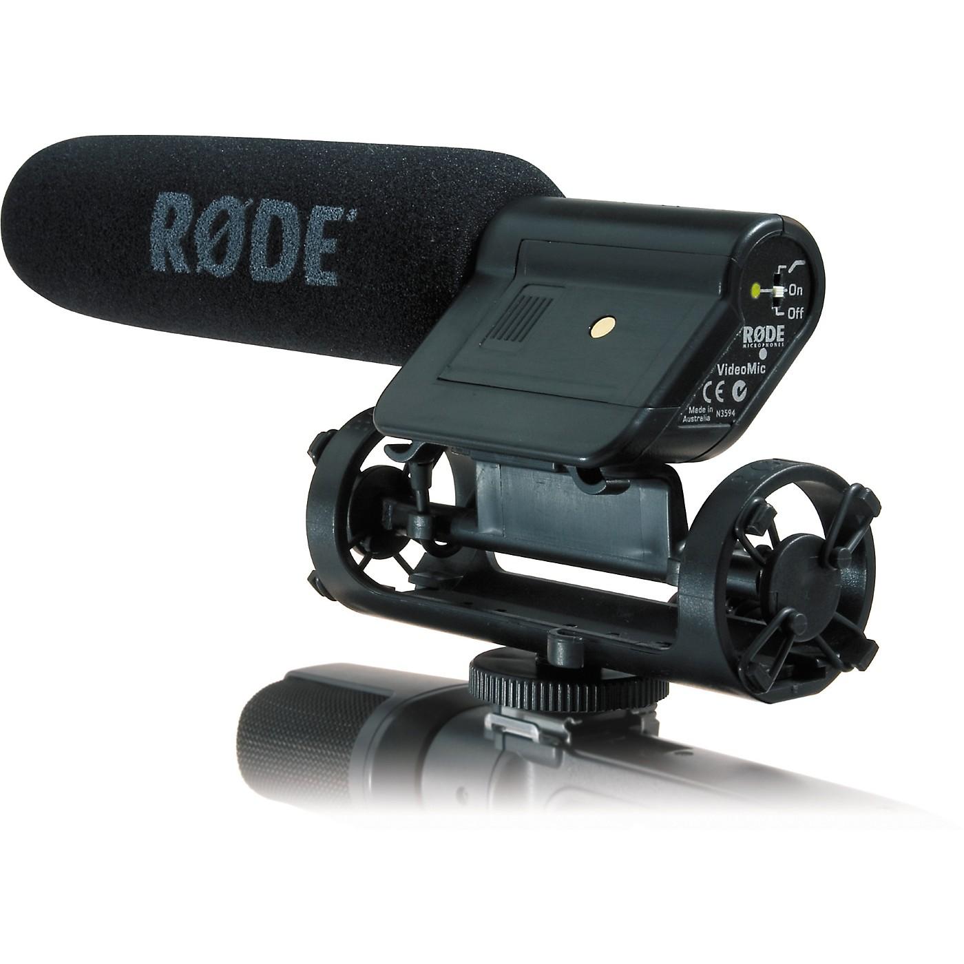Rode VideoMic Shotgun Condenser Microphone thumbnail