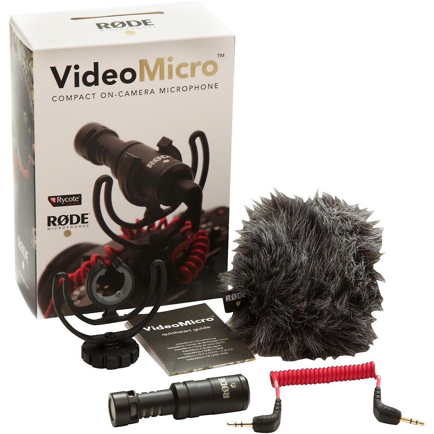Rode VideoMicro Compact Directional On-Camera Microphone thumbnail
