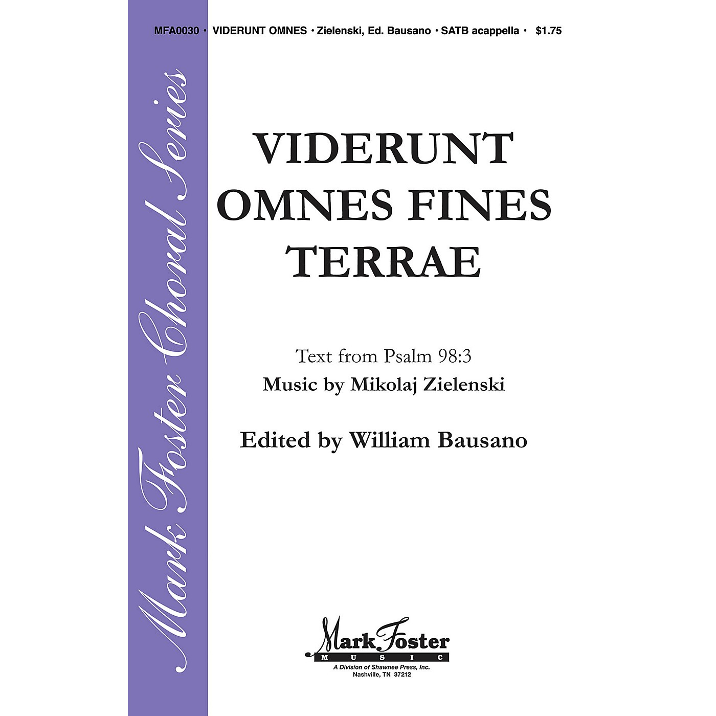 Shawnee Press Viderunt Omnes Fine Terrae SATB a cappella composed by Mikolaj Zielenski thumbnail
