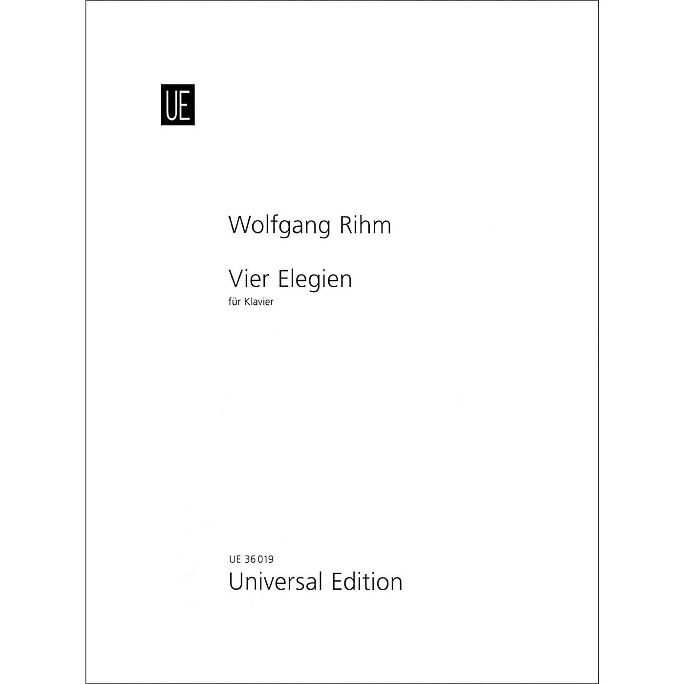 Carl Fischer Vier Elegien - Piano thumbnail
