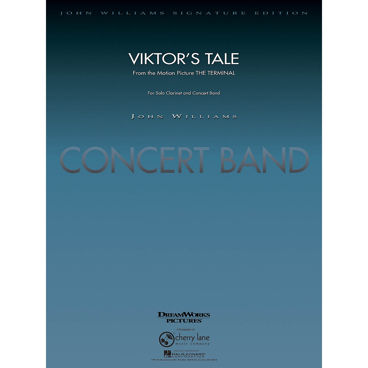 Cherry Lane Viktor's Tale (from The Terminal) Concert Band Level 5-6 Arranged by Paul Lavender thumbnail
