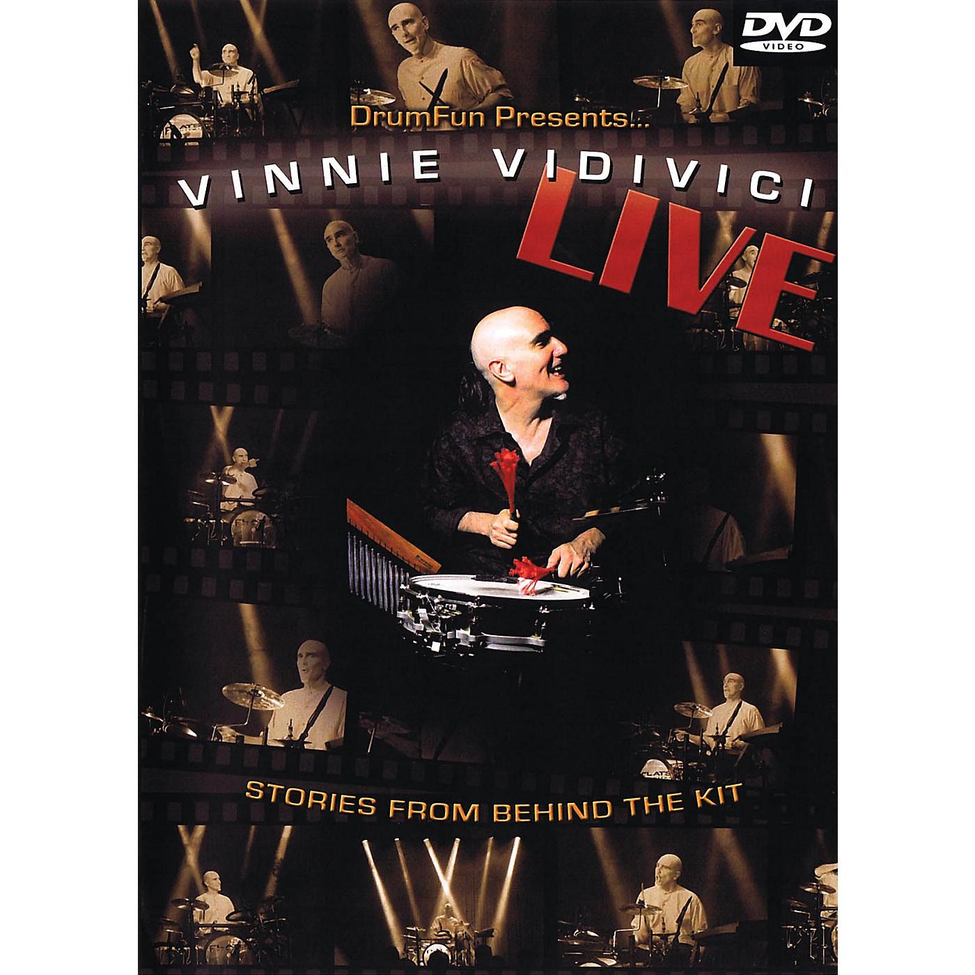 Drum Fun Inc Vinnie Vidivici Live Instructional/Drum/DVD Series DVD Performed by Vinnie Vidivici thumbnail