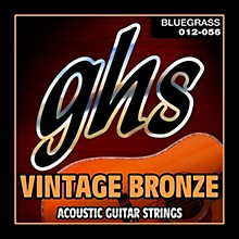 GHS Vintage Bronze 85/15 Acoustic Strings Light