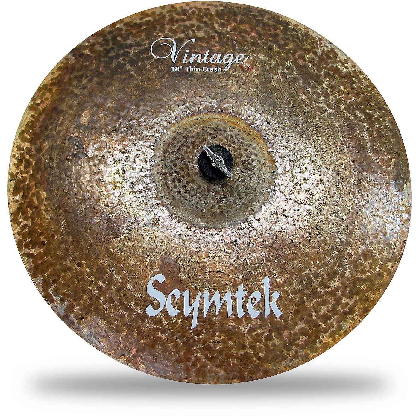 Scymtek Cymbals Vintage Crash Cymbal thumbnail