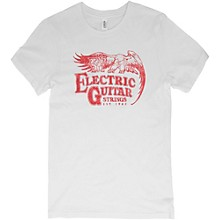 Ernie Ball Vintage Electric Guitar Strings Red Font T-Shirt