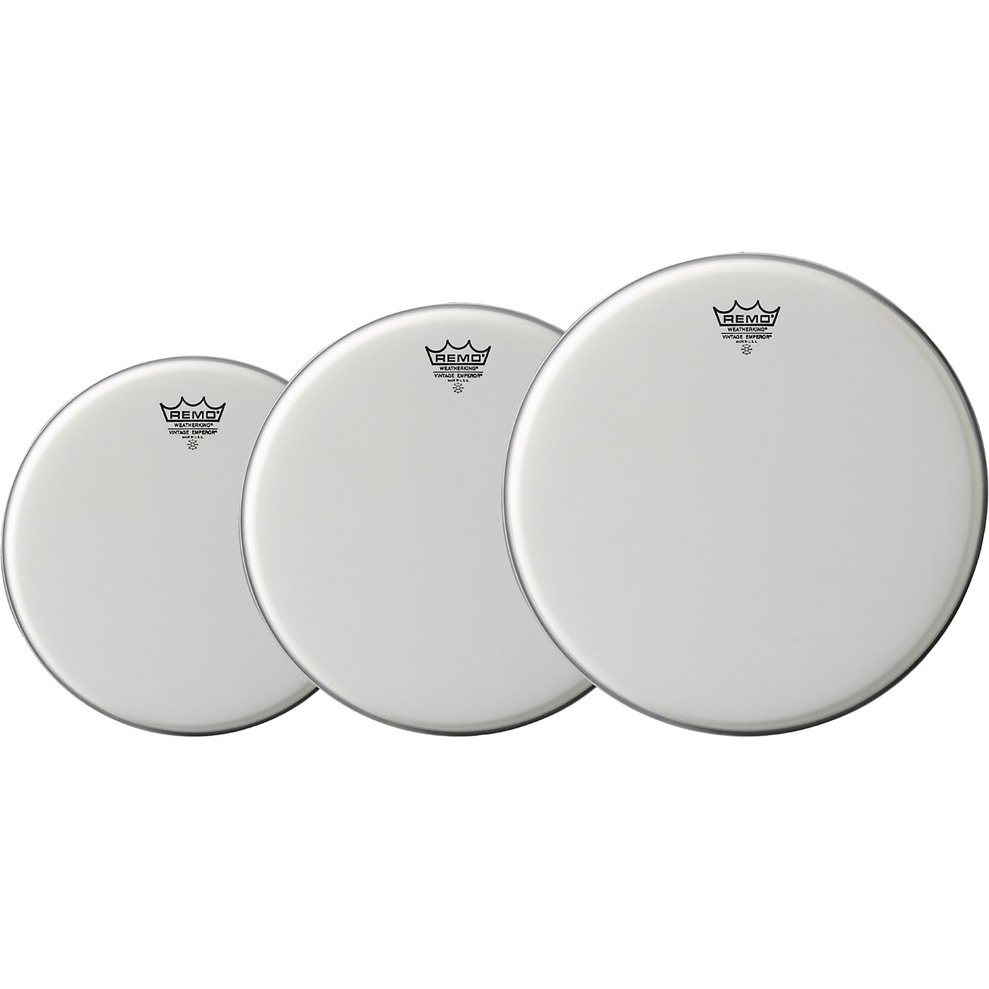 Remo Vintage Emperor Drum Head 3-Pack, 12/14/16 thumbnail