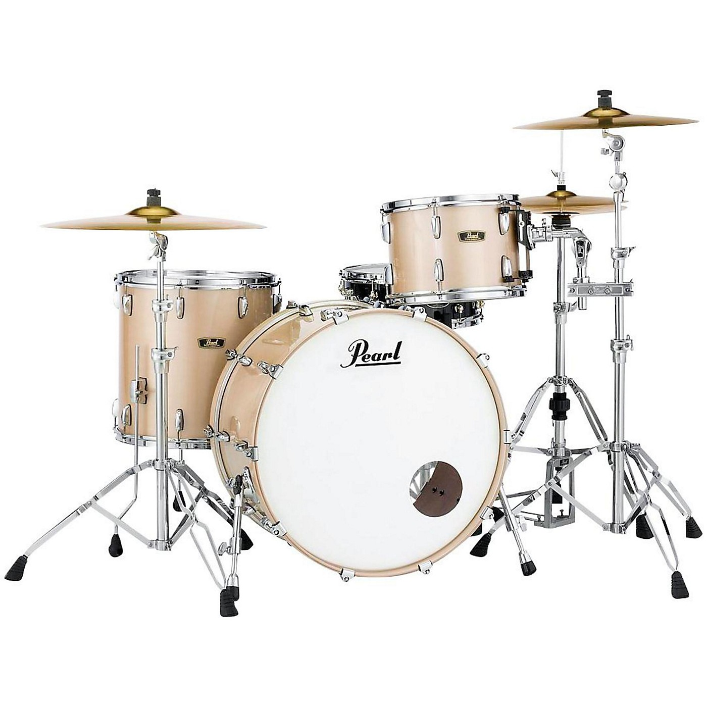 Pearl Vintage Hybrid Wood Fiberglass Series 3-Piece Shell Pack with 24 in. Bass Drum thumbnail