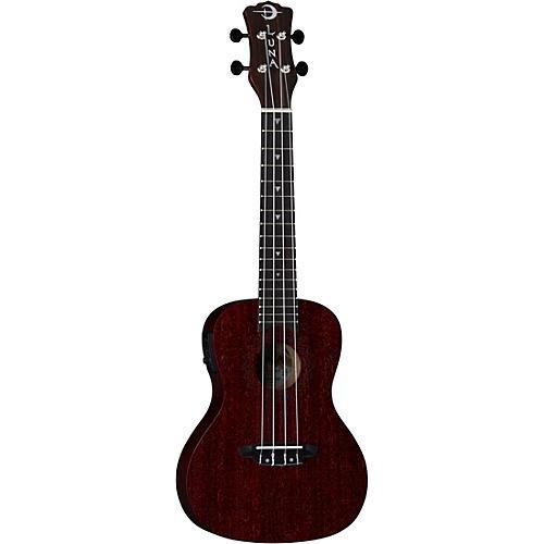 Luna Guitars Vintage Mahogany Concert Cutaway Acoustic-Electric Ukulele thumbnail