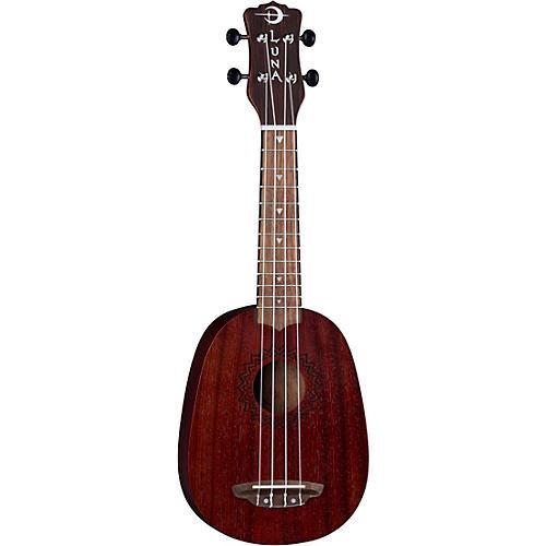 Luna Guitars Vintage Mahogany Pineapple Ukulele thumbnail