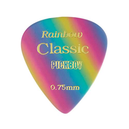 Pick Boy Vintage Pick Celluloid Rainbow (10-pack)-thumbnail