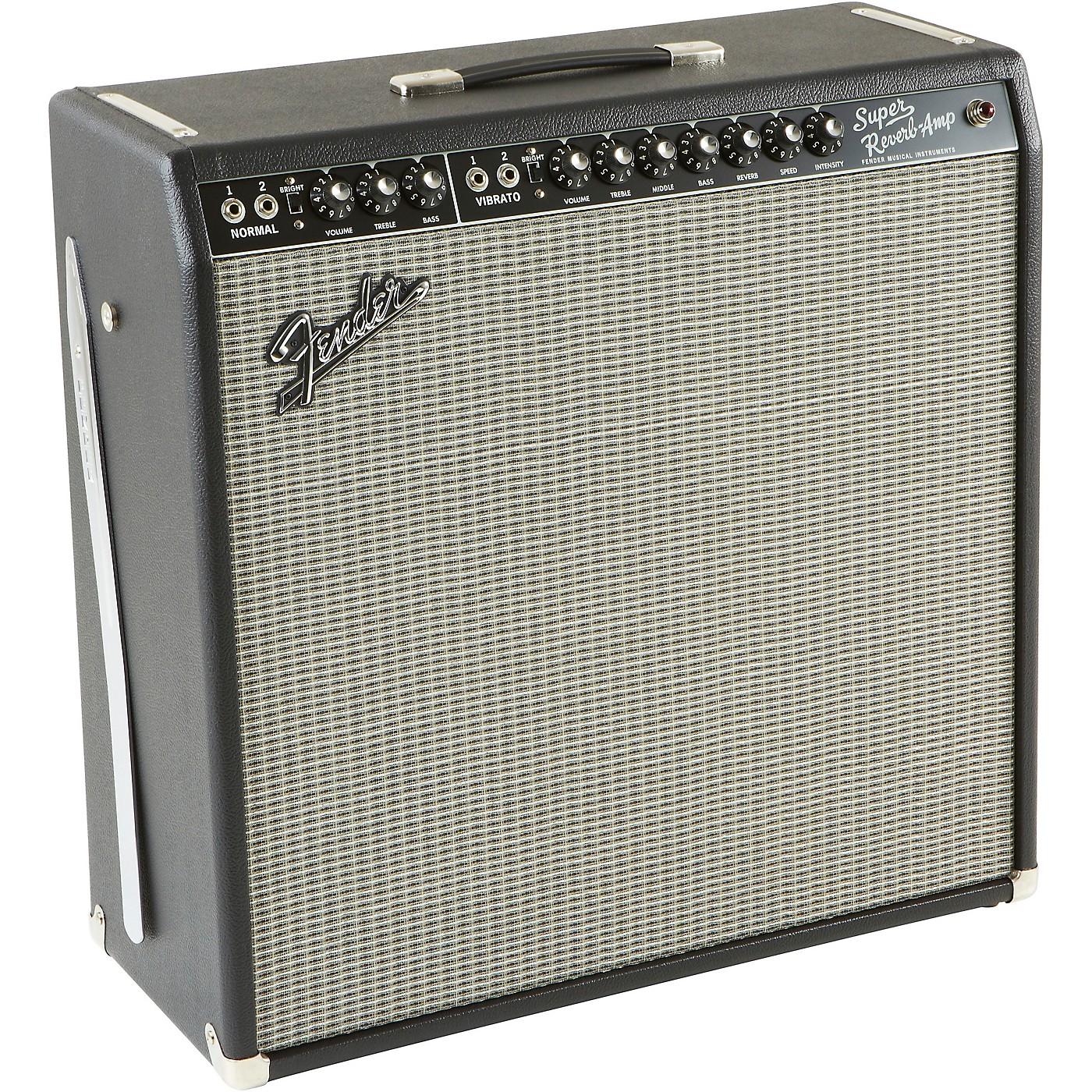 Fender Vintage Reissue '65 Super Reverb 4x10 Guitar Combo Amp thumbnail