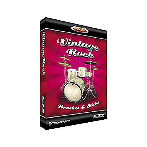 Toontrack Vintage Rock Brushes and Sticks EZX Sample Library-thumbnail