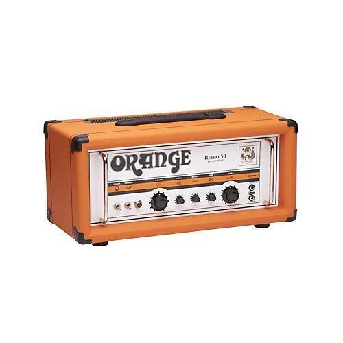 Orange Amplifiers Vintage Series Retro 50 50W Tube Guitar Amp Head-thumbnail