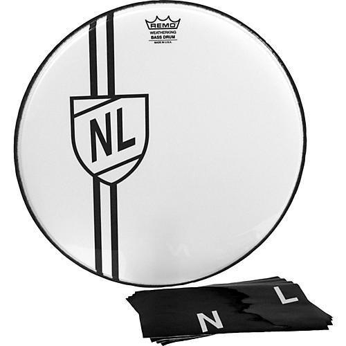 Remo Vintage Shield Graphic Bass Drumhead thumbnail