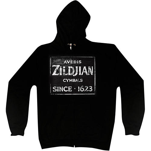 Zildjian Vintage Sign Zip Hoodie thumbnail