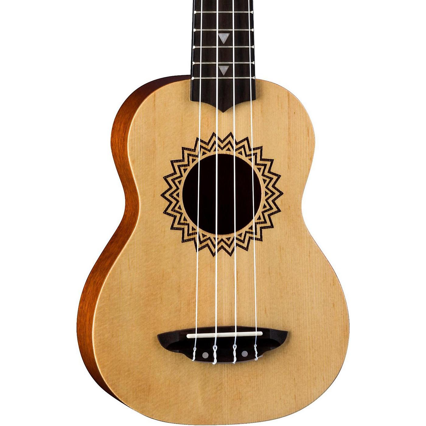 Luna Guitars Vintage Spruce Soprano Ukulele thumbnail