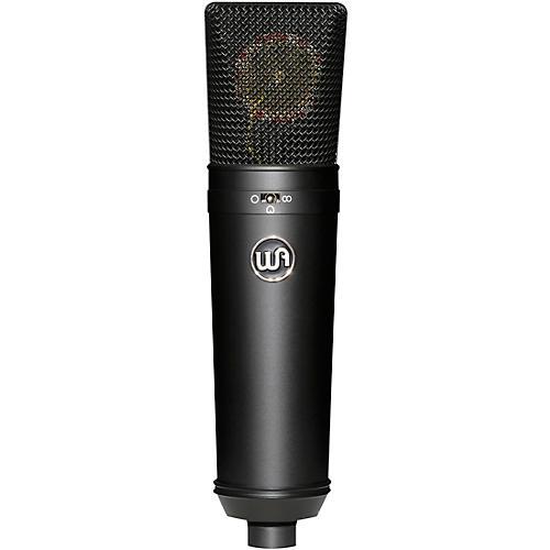 Warm Audio Vintage-Style Condenser Microphone Black thumbnail