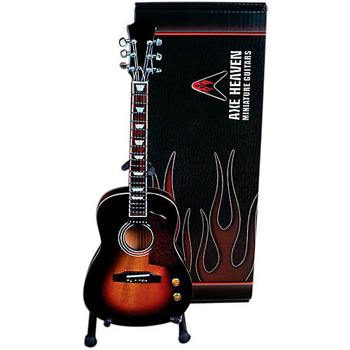 Axe Heaven Vintage Sunburst Acoustic Miniature Guitar Replica Collectible thumbnail