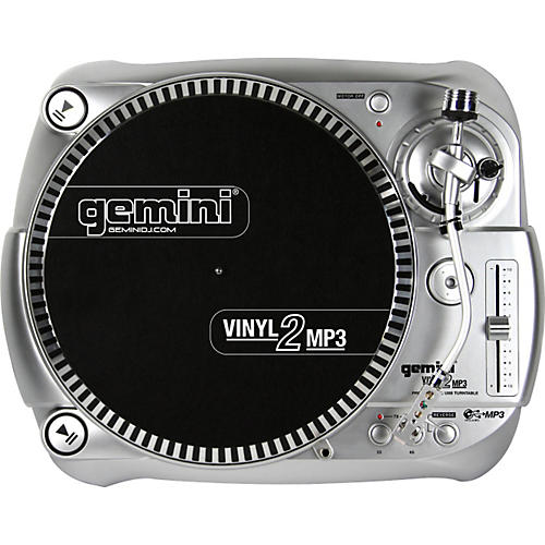 Gemini Vinyl2MP3 USB Turntable-thumbnail