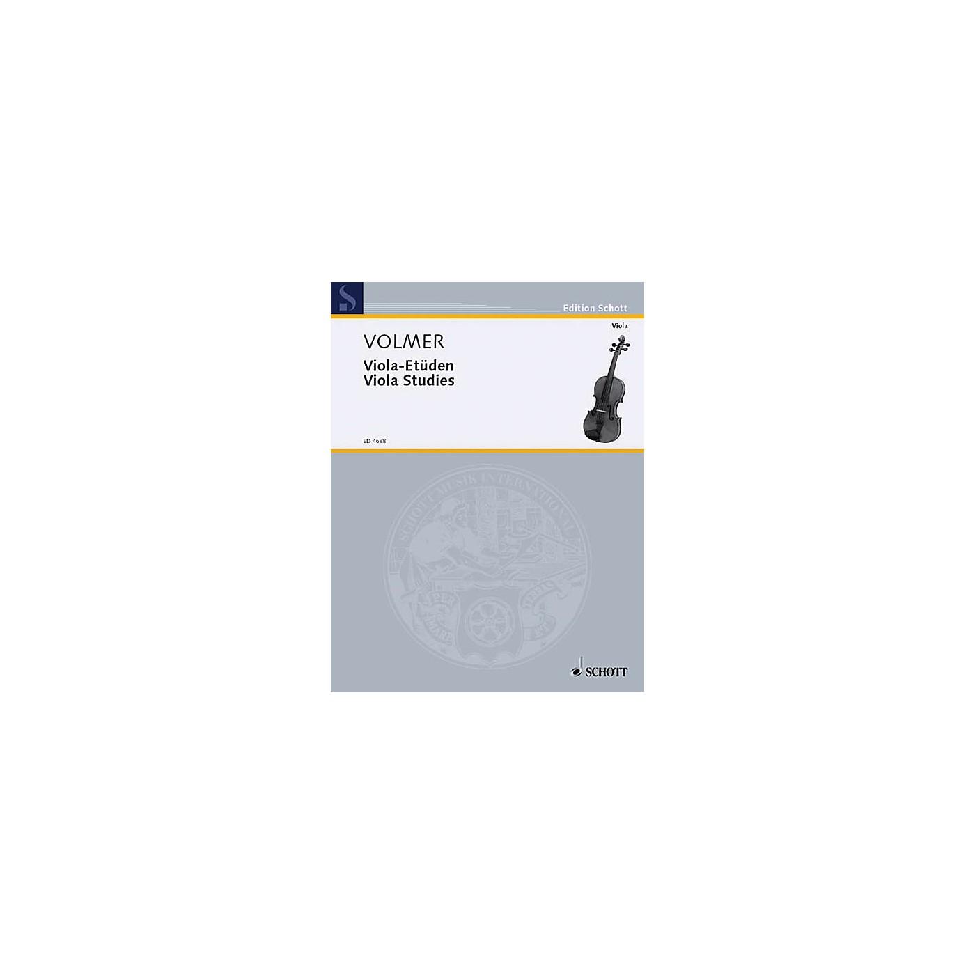 Schott Viola Studies Schott Series thumbnail