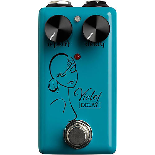 Red Witch Violet Delay Guitar Effects Pedal thumbnail