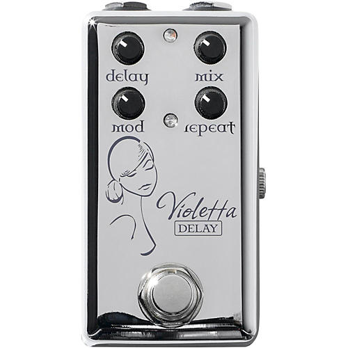 Red Witch Violetta Delay Guitar Effects Pedal thumbnail
