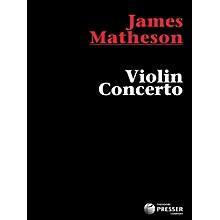 Carl Fischer Violin Concerto - Small Score (Book)