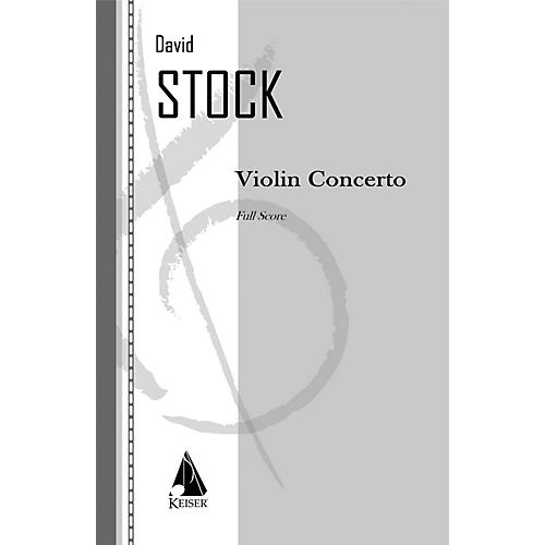 Lauren Keiser Music Publishing Violin Concerto LKM Music Series Composed by David Stock thumbnail