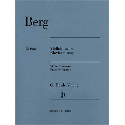 G. Henle Verlag Violin Concerto Piano Reduction By Berg / Kube thumbnail