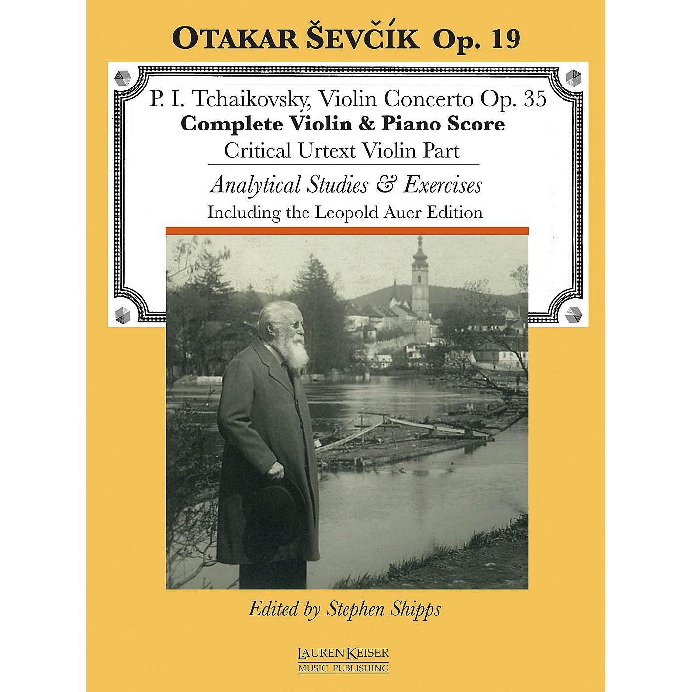 Lauren Keiser Music Publishing Violin Concerto in D Major, Op. 35 LKM Music Series thumbnail