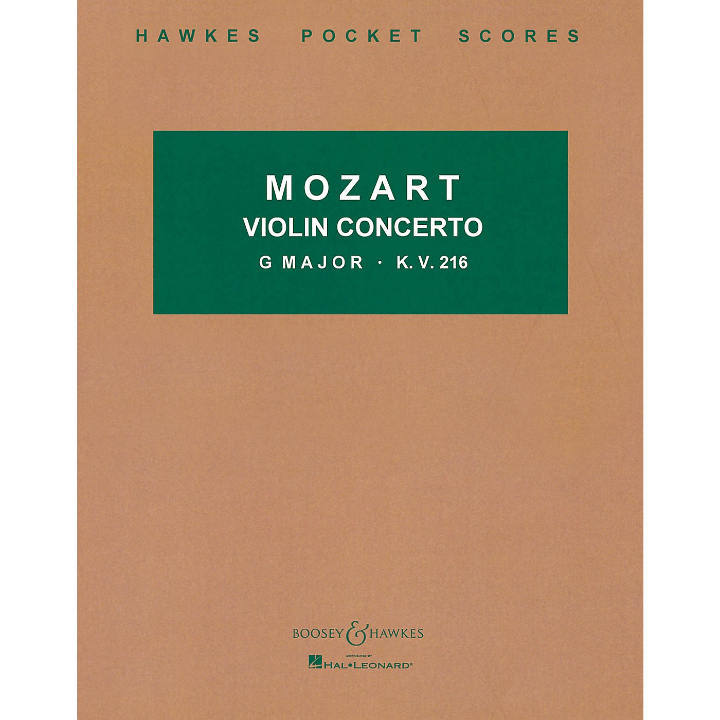 Boosey and Hawkes Violin Concerto in G Major, K.V. 216 Boosey & Hawkes Scores/Books Series by Wolfgang Amadeus Mozart thumbnail
