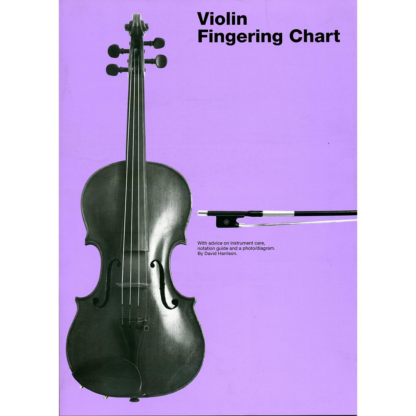 Hal Leonard Violin Fingering Chart thumbnail